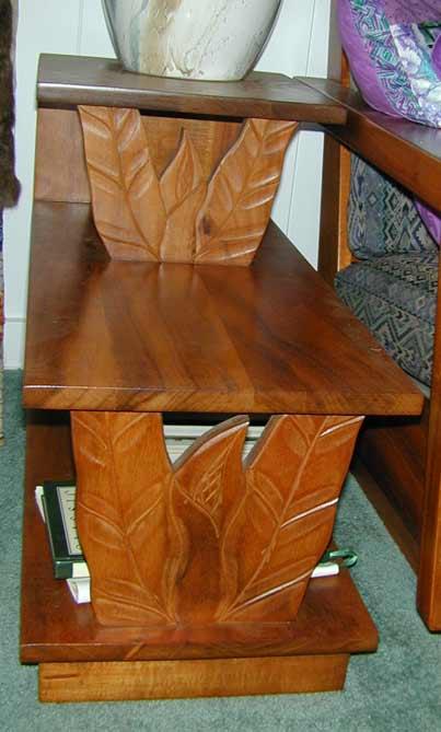 Solid Koa Wood 6 Piece Living Room Set