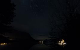 lake kenai night