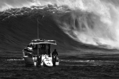 big waves