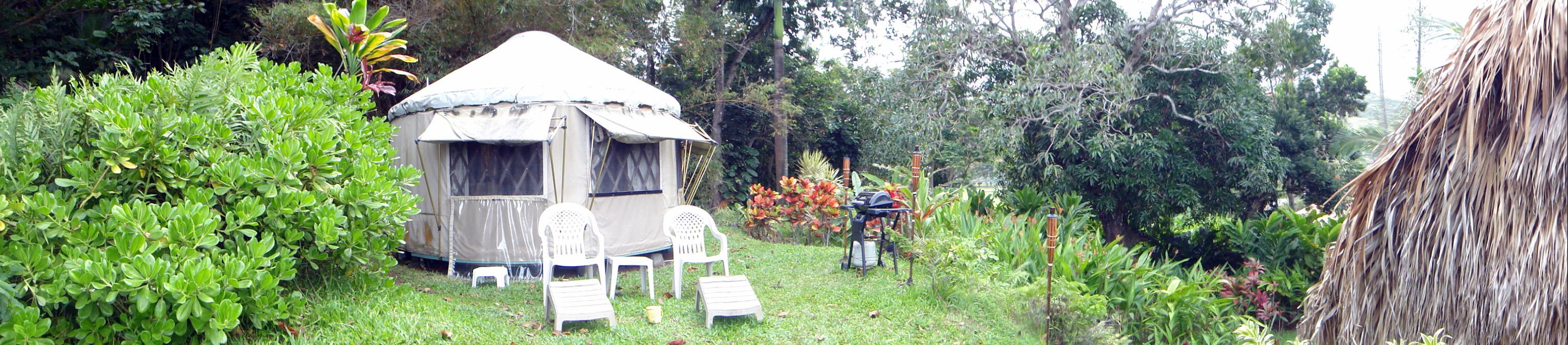 The Yurt in Hana