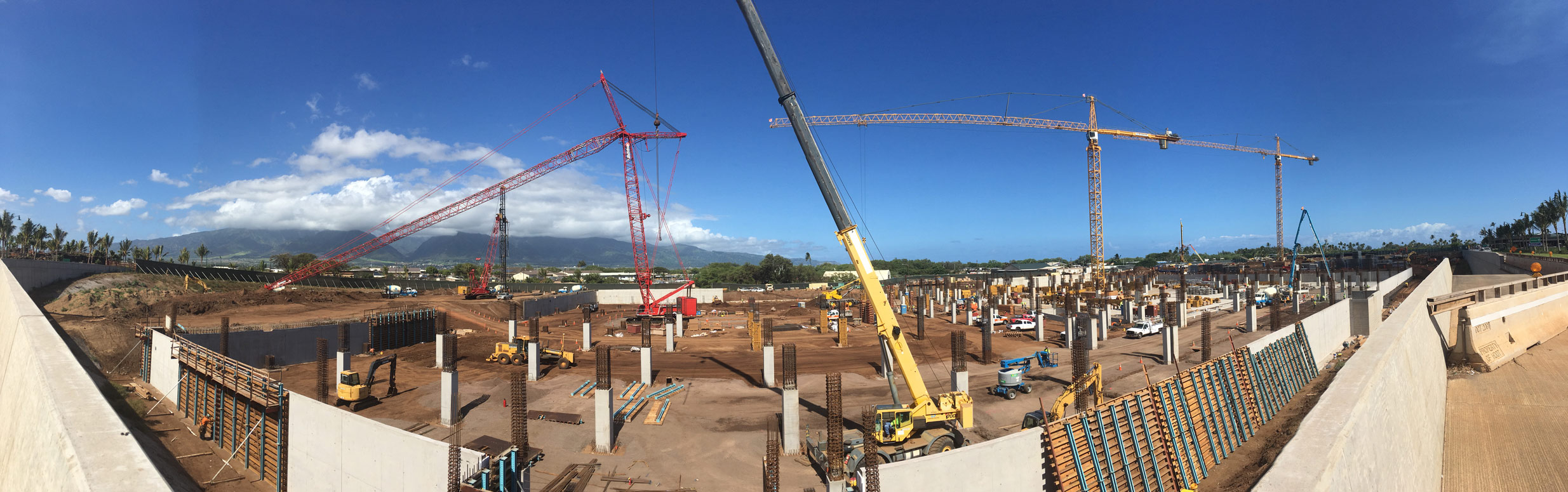 Consolidated Rent-A-Car (Conrac) facility at Kahului Airport